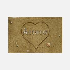Arturo Beach Love Rectangle Magnet