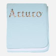 Arturo Seashells baby blanket