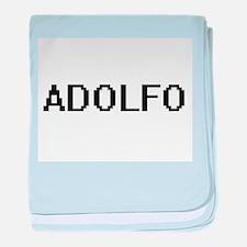 Adolfo Digital Name Design baby blanket