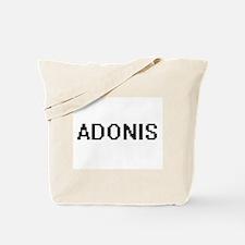 Adonis Digital Name Design Tote Bag