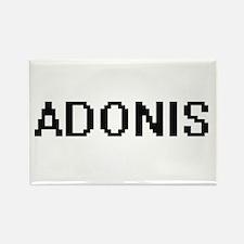 Adonis Digital Name Design Magnets