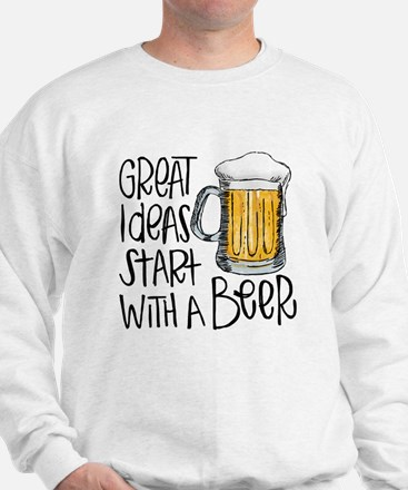 Great Ideas Start With A Beer Sweater