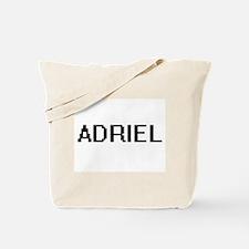 Adriel Digital Name Design Tote Bag