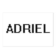 Adriel Digital Name Desig Postcards (Package of 8)