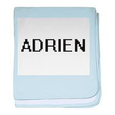 Adrien Digital Name Design baby blanket