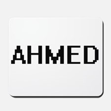 Ahmed Digital Name Design Mousepad