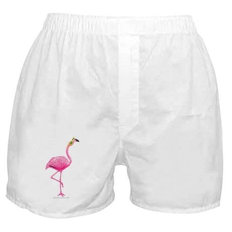 One Cool Flamingo Boxer Shorts