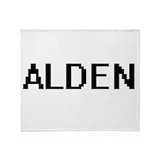 Alden Digital Name Design Throw Blanket