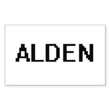 Alden Digital Name Design Decal