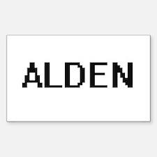 Alden Digital Name Design Decal