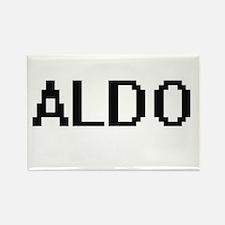 Aldo Digital Name Design Magnets