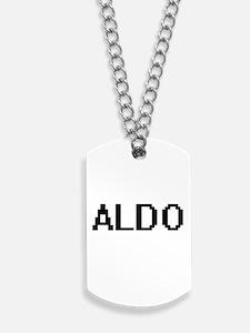 Aldo Digital Name Design Dog Tags