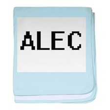 Alec Digital Name Design baby blanket