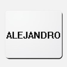 Alejandro Digital Name Design Mousepad