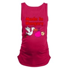 Made In Hungary Girl Maternity Tank Top