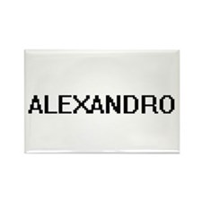 Alexandro Digital Name Design Magnets