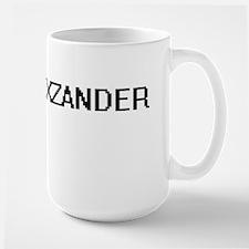 Alexzander Digital Name Design Mugs
