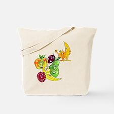 Healthy Happy Fruit Tote Bag