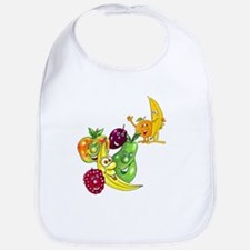 Healthy Happy Fruit Bib