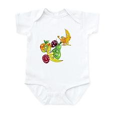 Healthy Happy Fruit Infant Bodysuit