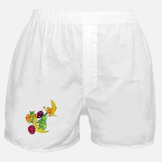 Healthy Happy Fruit Boxer Shorts