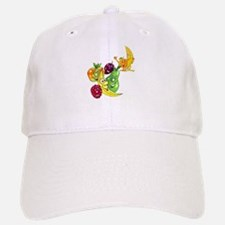Healthy Happy Fruit Baseball Baseball Cap