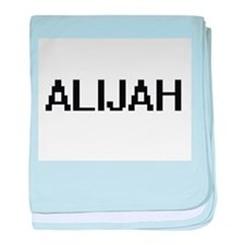 Alijah Digital Name Design baby blanket