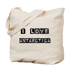 I Block love Antarctica Tote Bag