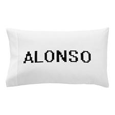 Alonso Digital Name Design Pillow Case