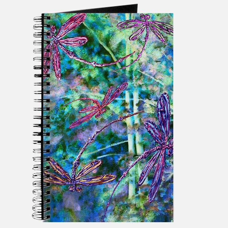 Dragonflies Forest Light Journal