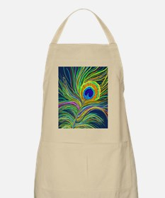 PAINTED PEACOCK FEATHER S Apron