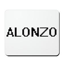 Alonzo Digital Name Design Mousepad