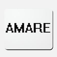Amare Digital Name Design Mousepad