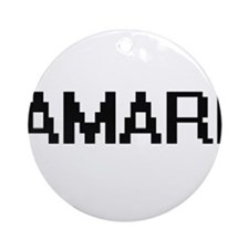 Amari Digital Name Design Ornament (Round)