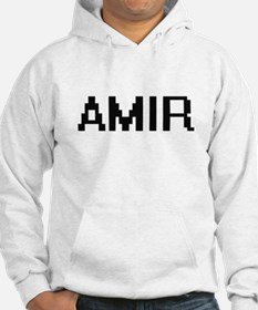 Amir Digital Name Design Hoodie