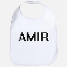 Amir Digital Name Design Bib