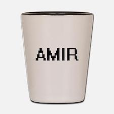 Amir Digital Name Design Shot Glass