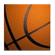 Basketball Big Wide Tile Coaster