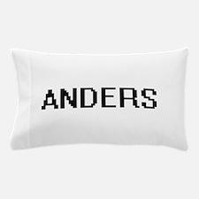 Anders Digital Name Design Pillow Case