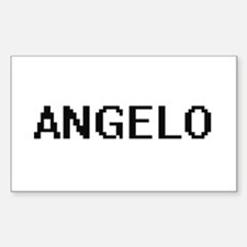 Angelo Digital Name Design Decal