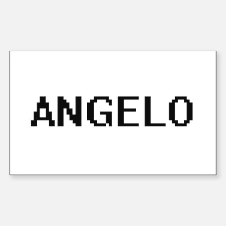 Angelo Digital Name Design Decal