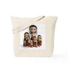Cute Doll Tote Bag