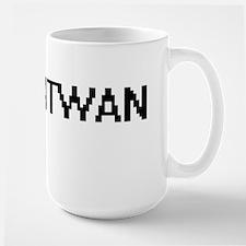 Antwan Digital Name Design Mugs
