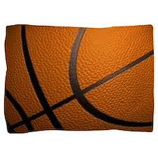 Basketball Big Wide Pillow Sham