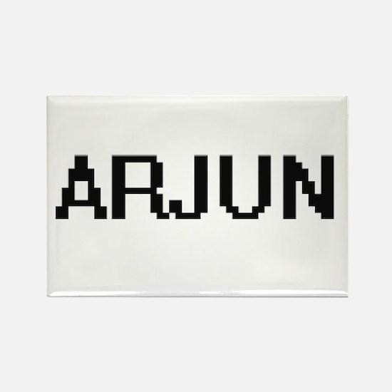 Arjun Digital Name Design Magnets
