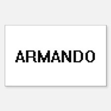 Armando Digital Name Design Decal
