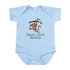 Nana's Little Monkey Body Suit