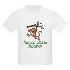 Nana's Little Monkey T-Shirt