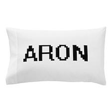 Aron Digital Name Design Pillow Case