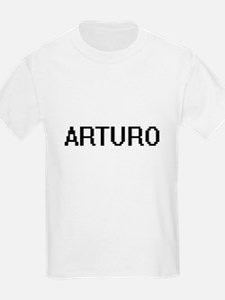Arturo Digital Name Design T-Shirt